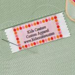 Hot Dots Personalized Sewing Labels