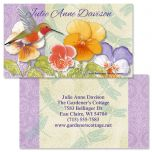 Belle Fleur  Double-Sided Business Cards
