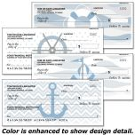 Nautical Chic Personal Checks