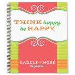 Think Happy Label Organizer