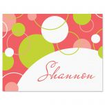 Swanky Personalized Note Cards