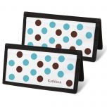 Pastel Dots Checkbook Cover