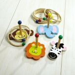 Zoo Animal Ring Toss Game
