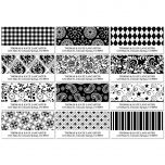 Black and White Deluxe Address Labels  (12 designs)