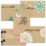 Everyday Hugs Kraft Cards Value Pack
