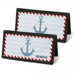 Nautical Chic Checkbook Cover