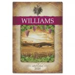 Tuscany Wine Personalized Cutting Board