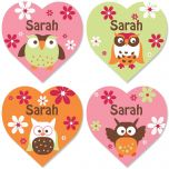 Owl Personalized  Stickers