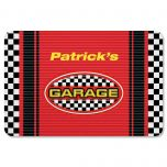 Checkered Flag Personalized Doormat