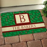 Holly Personalized Doormat
