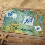 Seaside Personalized Doormat