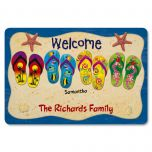 Flip-Flops  Welcome Doormat