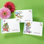 Mary Engelbreit®  Personalized Floral Note Cards