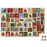 Christmas Stamp Puzzle