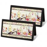 Fashionista Personal Checkbook Covers