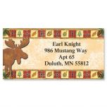 Moose Lake Border Address Labels