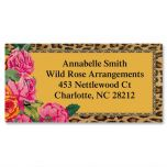 Wild & Rosie Border Address Labels