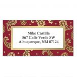Executive  Foil Border Address Labels