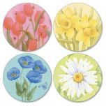 Springtime Delights  Envelope Seals   (4 Designs)
