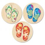 Baja Flip-Flops Envelope Seals  (3 Designs)