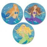 Mermaids Envelope Seals  (3 Designs)