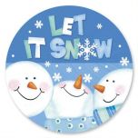 Let it Snow Envelope Seals