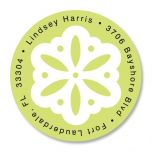 Athena Round Address Labels