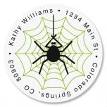 Webby Round Address Labels