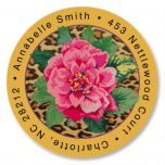 Wild & Rosie Round Address Labels