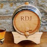 Age Your Own Whiskey Mini Personalized Whiskey Barrel Kit