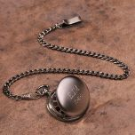 Gunmetal Pocket Watch