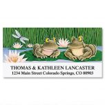 Lily Pad Love Deluxe Address Labels