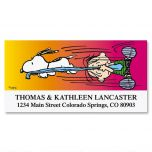 SNOOPY'S®  Sneak Attack Deluxe Address Labels