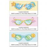Fun Sunglasses Deluxe Address Labels  (3 Designs)