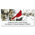 Cardinal Deluxe Address Labels