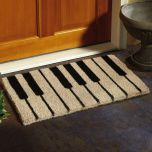 Piano Keys Coir Doormat