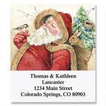 Woodland Santa Select Address Labels