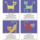 Fun Cats Select Address Labels  (4 Designs)