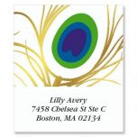 Feather Foil Select Address Labels