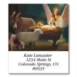 Angel and Manger  Select Address Labels