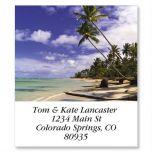 Caribbean Beach Select Address Labels