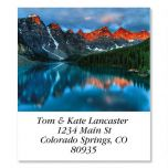Mountain Lake Sunrise  Select Address Labels