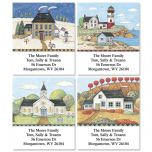 American Landscape Select Address Labels  (4 Designs)