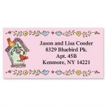 A Season at Home Border Address Labels  (12 Designs)