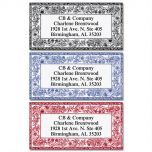Ornate Toile Border Address Labels   (3 Designs)