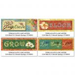 Nature Collection Deluxe Address Labels  (4 Designs)