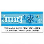 4 Seasons Deluxe Address Labels  (12 Designs)