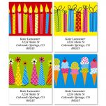 Big and Bright Select Address Labels  (4 Designs)