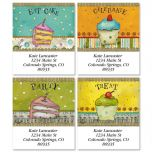 Let's Party Select Address Labels  (4 Designs)