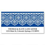 Border Pattern Deluxe Address Labels  (12 Designs)